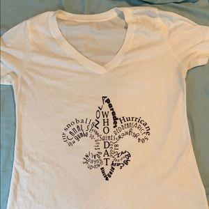 new orleans girls t shirt